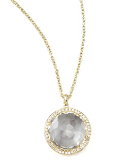 Ippolita Clear Quartz Pendant Necklace