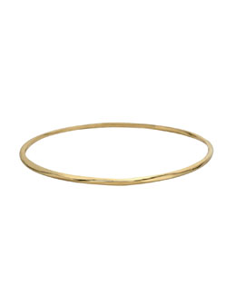 Ippolita Thin Glamazon Bangle, Gold