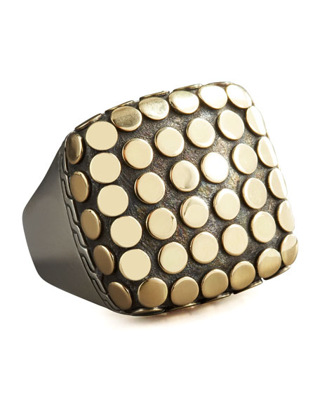 Dot Square Ring