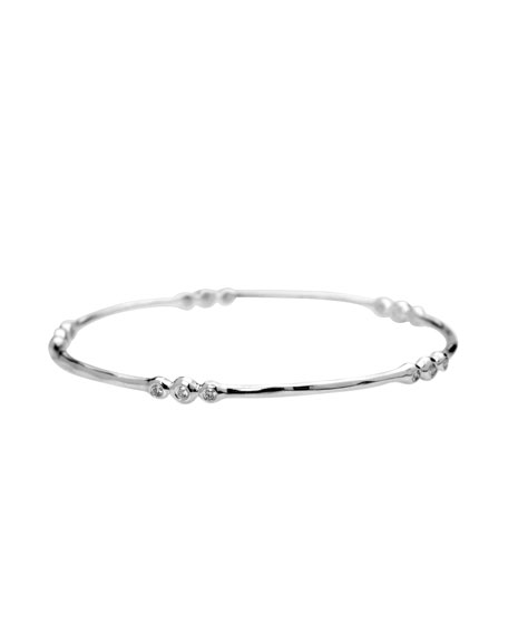 Clustered Diamond Bangle