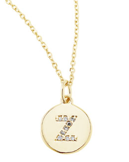 KC Designs Diamond-Initial Necklace, Z