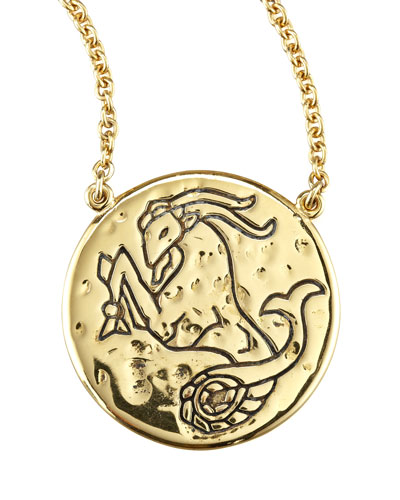 Amy Zerner Astrology Necklace, Capricorn