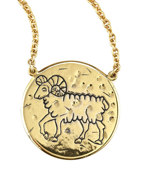 Astrology Necklace, Aries