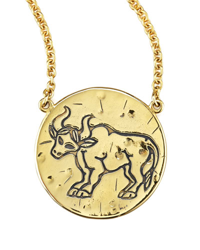 Amy Zerner Astrology Necklace, Taurus