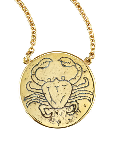 Astrology Necklace, Cancer