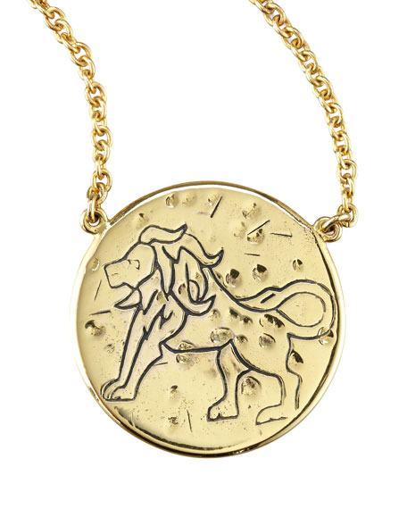 Astrology Necklace, Leo