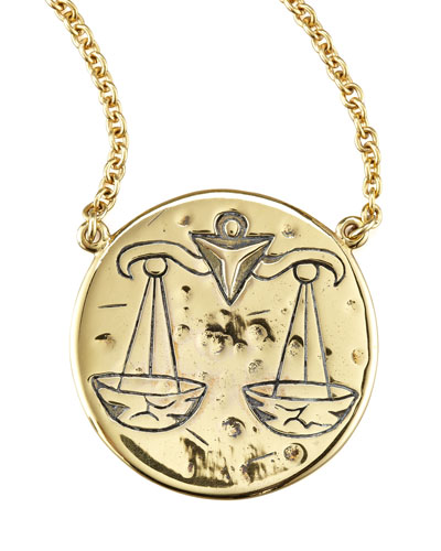Amy Zerner Astrology Necklace, Libra