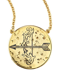 Amy Zerner Astrology Necklace, Sagittarius