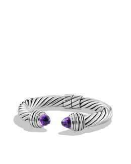David Yurman Cable Classics Bracelet with Amethyst
