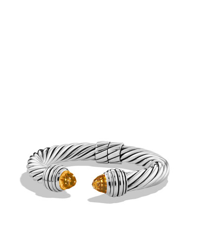 David Yurman Cable Classics Bracelet with Citrine