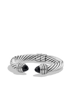 David Yurman Cable Classics Bracelet with Black Onyx