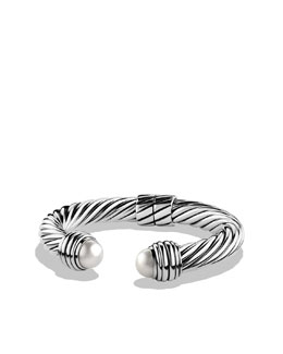 David Yurman Cable Classics Bracelet with Pearls