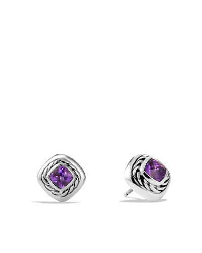 David Yurman Color Classics Earrings with Amethyst