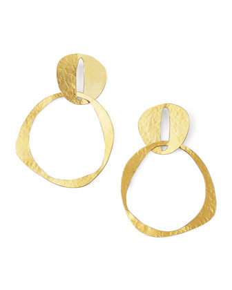Double-Circle Earrings