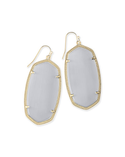 Kendra Scott Danielle Earrings, Black Onyx