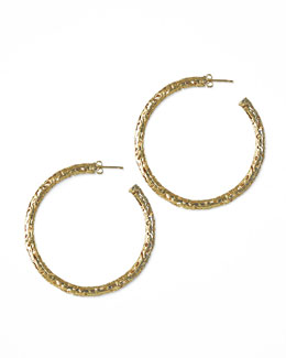 Kendra Scott Maggie Hoop Earrings