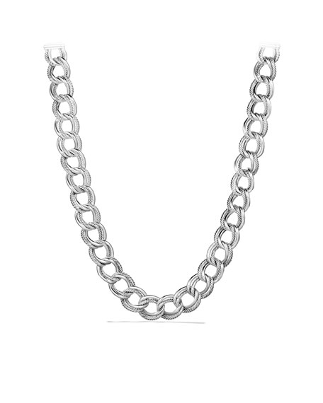 Curb Link Narrow Necklace