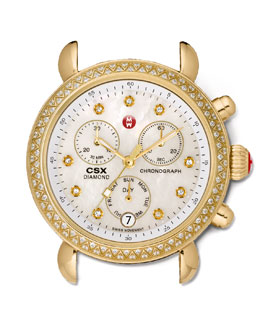 MICHELE CSX-36 Day Diamond Watch Head