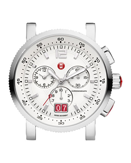 Large Sport Sail Watch Head, White