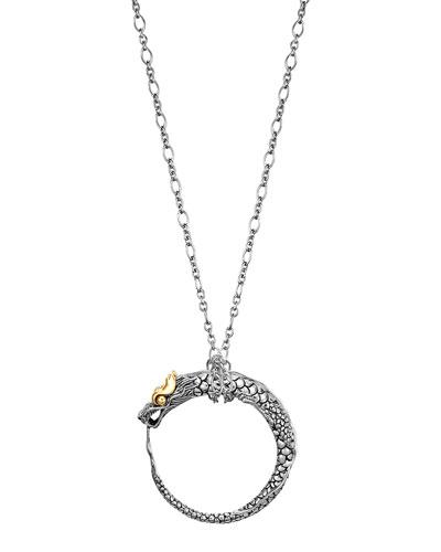 John Hardy Naga Dragon Pendant Necklace