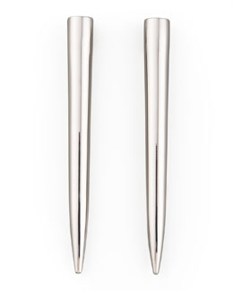Eddie Borgo Silver-Plated Spike Earrings