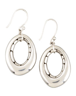 John Hardy Oval Earrings, Small