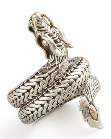 Naga Dragon Coil Ring