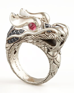 John Hardy Dragon-Head Ring