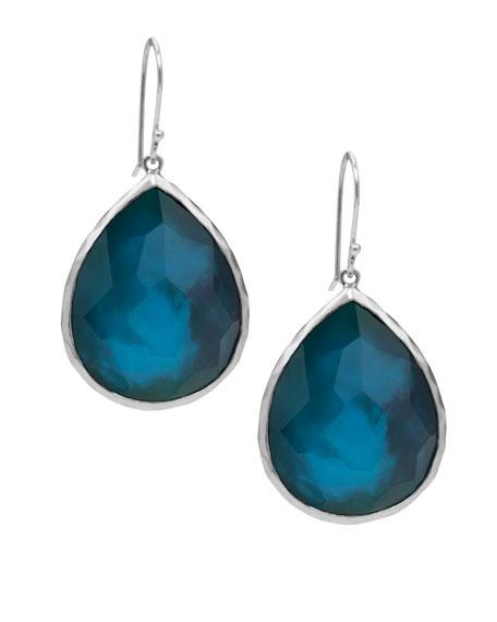 Wonderland Teardrop Earrings, Blue