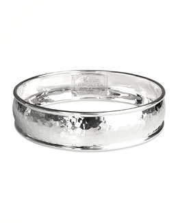 Ippolita Hammered Silver Bangle