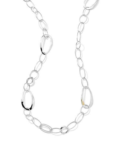 "Wavy-Link Chain Necklace, 40""L"