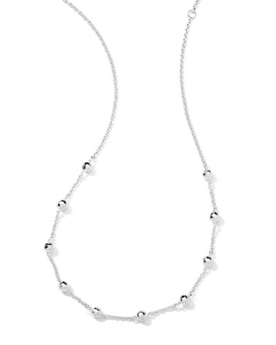 Ippolita Mini Hammered Ball Necklace
