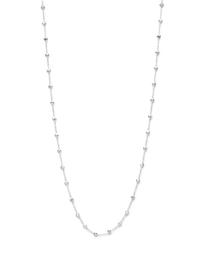 Ippolita Sterling Silver Station Necklace