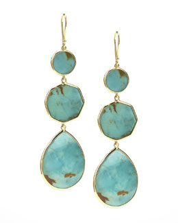 Ippolita Turquoise Gelato Crazy-Eight Earrings