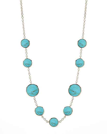 Ippolita Turquoise Slice Necklace