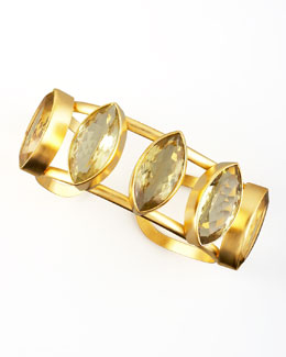 Dina Mackney Lemon Citrine Cuff