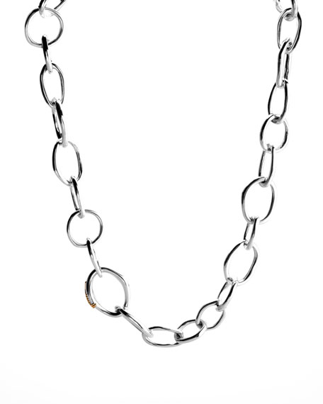 "Scultura Chain Necklace, 18""L"