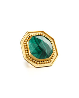 Stephanie Kantis Malachite Ring