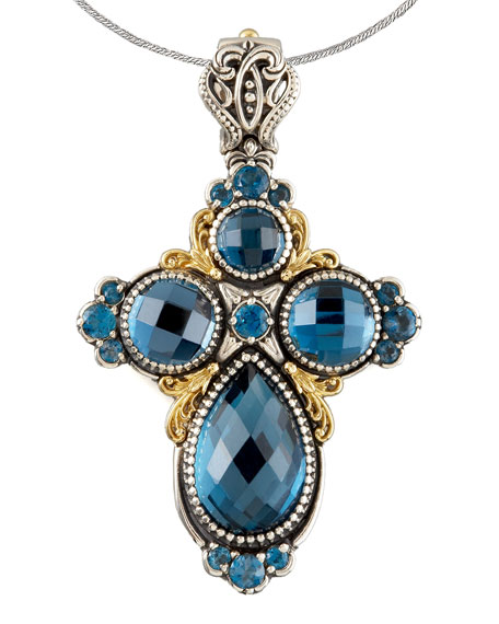 London Blue Topaz Cross Enhancer