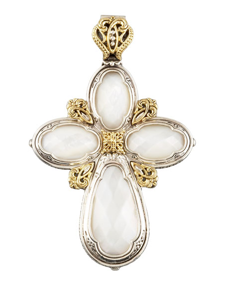 Mother-of-Pearl Cross Enhancer