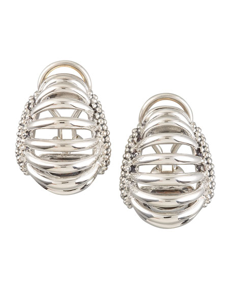 Interlude Clip Earrings