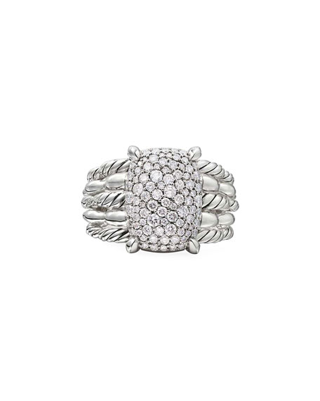 David Yurman Tides Diamond Pave Ring, Size 9