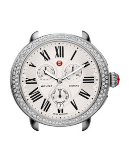 MICHELE Serein Diamond Watch Head, Silver