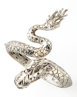 John Hardy Naga Hinged Single-Coil Bracelet