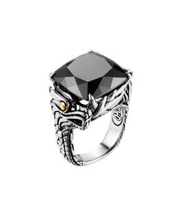John Hardy Naga Batu Ring, Hematite