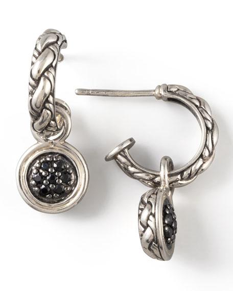 Sapphire-Drop Chain Earrings