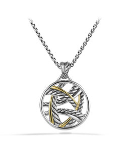 David Yurman Papyrus Pendant with Gold