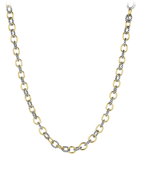 David Yurman Medium Oval-Link Chain