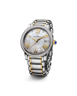 David Yurman The Classic® Timepiece, Steel & 18k Gold, 38mm