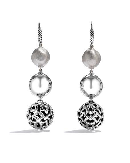 DY Elements Triple-Drop Earrings